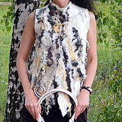 Одежда ручной работы. Ярмарка Мастеров - ручная работа Жилет с флисами. Handmade.