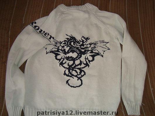 """Кофты и свитера ручной работы. Ярмарка Мастеров - ручная работа. Купить свитер """"Восточная фантазия"""". Handmade. Вязаный свитер"""
