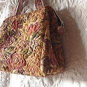 "Сумки и аксессуары handmade. Livemaster - original item Textile, quilted bag ""Tuscany Noon"". Handmade."