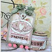 Подарки к праздникам ручной работы. Ярмарка Мастеров - ручная работа Шебби-комплект для юной леди. Handmade.