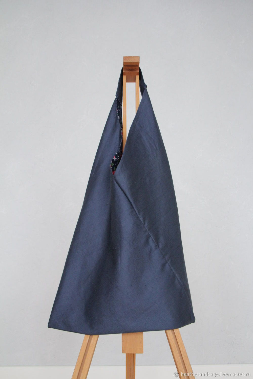 Bag-Bento from a vintage cotton, Sacks, Ekaterinburg,  Фото №1