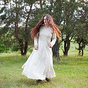 Одежда ручной работы. Ярмарка Мастеров - ручная работа Нижнее платье «Эйдис-воительница». Handmade.