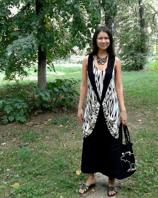 """Платья ручной работы. Ярмарка Мастеров - ручная работа. Купить Платье""""Дыхание природы"""". Handmade. Платье трансформер, платье миди"""