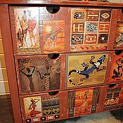 """Для дома и интерьера ручной работы. Ярмарка Мастеров - ручная работа """"Жираф"""" (""""Африканская страсть""""). Handmade."""