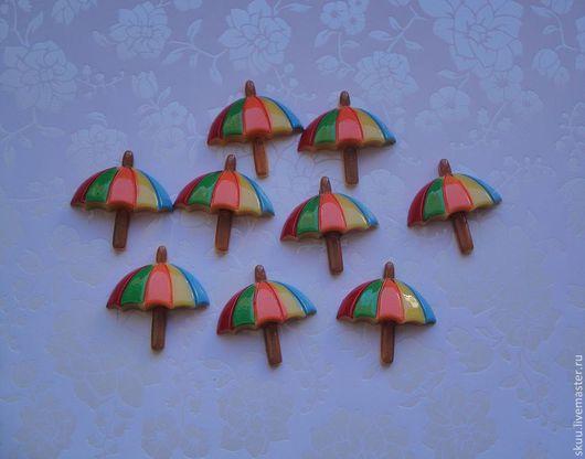 Открытки и скрапбукинг ручной работы. Ярмарка Мастеров - ручная работа. Купить Зонтики разноцветные. Handmade. Зонтик, зонт, зонты, зонтики
