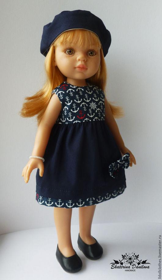 Одежда для кукол ручной работы. Ярмарка Мастеров - ручная работа. Купить Продано Комплект для куклы Paola Reina. Handmade.
