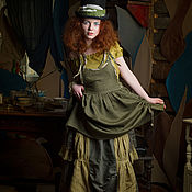 Одежда ручной работы. Ярмарка Мастеров - ручная работа Бохо-комплект Шляпницы. Handmade.