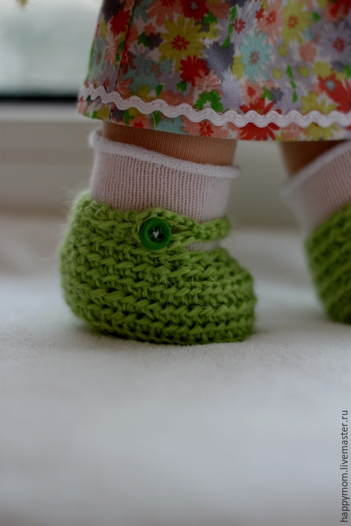 Вальдорфская игрушка ручной работы. Ярмарка Мастеров - ручная работа. Купить Веснушка. Handmade. Зеленый, подарок для девочки