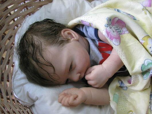 Куклы-младенцы и reborn ручной работы. Ярмарка Мастеров - ручная работа. Купить Кукла реборн. Handmade. Коричневый, кукла ребенок
