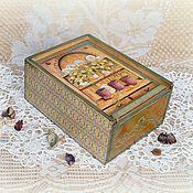 Для дома и интерьера handmade. Livemaster - original item Tea box-container