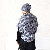 Одежда handmade. Livemaster - original item Stylish women`s boho cardigan, oversize cardigan