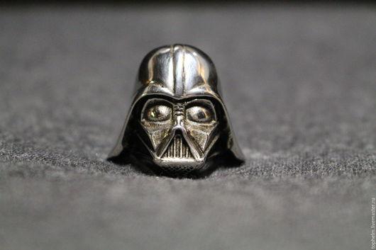 Кольца ручной работы. Ярмарка Мастеров - ручная работа. Купить Кольцо Дарт Вейдер / Darth Vader Ring. Handmade.