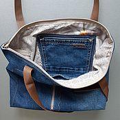 handmade. Livemaster - original item Tote: Master class on sewing bags. Handmade.
