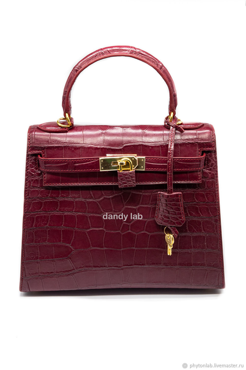 Crocodile leather bag, Classic Bag, Moscow,  Фото №1