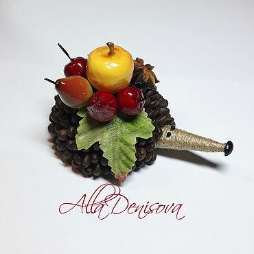Для дома и интерьера ручной работы. Ярмарка Мастеров - ручная работа Кофейный ежик. Handmade.