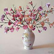 Цветы и флористика ручной работы. Ярмарка Мастеров - ручная работа Розовое облако. Handmade.