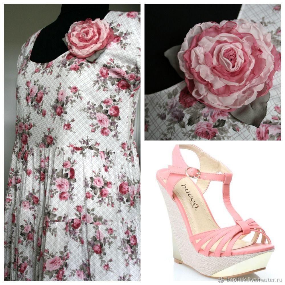 Здорово чувствовать себя в этом платье нежной и романтичной!