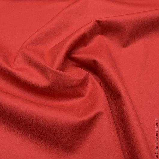Шитье ручной работы. Ярмарка Мастеров - ручная работа. Купить Драп пальтовый (коралловый) (005982). Handmade. Ткань, fashion