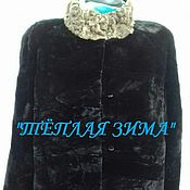 Одежда handmade. Livemaster - original item WOMENS MUTTON FUR COAT. Handmade.