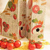 Для дома и интерьера ручной работы. Ярмарка Мастеров - ручная работа Журнальницы 2 штуки/. Handmade.