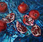 Картины и панно handmade. Livemaster - original item Oil painting sweet and Sour taste of the East. Handmade.