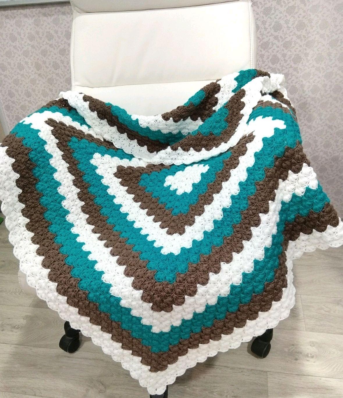 Crochet Baby Blanket Baby Boy Blanket Newborn Boy Gift Shop