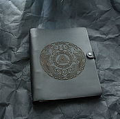 Канцелярские товары handmade. Livemaster - original item Notebook with rings - Viking. Handmade.