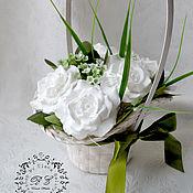 Косметика ручной работы. Ярмарка Мастеров - ручная работа Мыльный букет, 5 роз. Handmade.