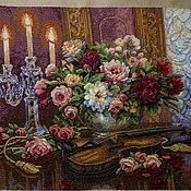 Картины и панно handmade. Livemaster - original item Romantic bouquet. Handmade.