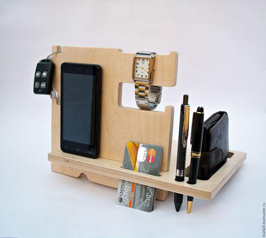 Для телефонов ручной работы. Ярмарка Мастеров - ручная работа. Купить Подставка под телефон-1. Handmade. Бежевый