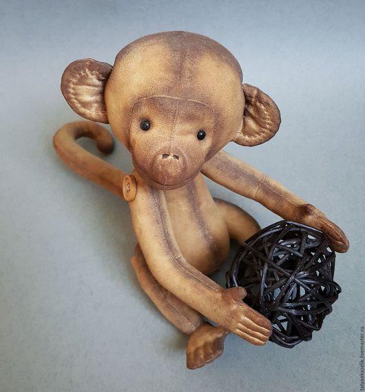 Куклы и игрушки ручной работы. Ярмарка Мастеров - ручная работа. Купить Мартышка ароматизированная. Handmade. Коричневый, ручная работа