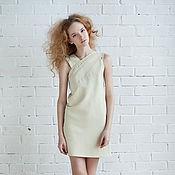 Одежда ручной работы. Ярмарка Мастеров - ручная работа ванильное платье. Handmade.