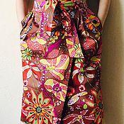Одежда ручной работы. Ярмарка Мастеров - ручная работа Цветная юбка. Handmade.