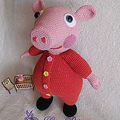 Куклы и игрушки ручной работы. Ярмарка Мастеров - ручная работа Свинка Пеппа. Handmade.