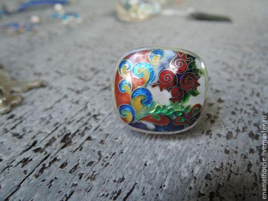 """Кольца ручной работы. Ярмарка Мастеров - ручная работа. Купить Кольцо """"Гранаты"""". Handmade. Разноцветный, красный, keto"""