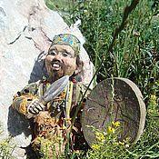 """Куклы и игрушки ручной работы. Ярмарка Мастеров - ручная работа Авторская кукла """"Алтайский шаман Эркимен"""". Handmade."""