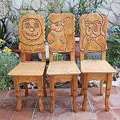 Для дома и интерьера ручной работы. Ярмарка Мастеров - ручная работа стул , детский стул, стульчик. Handmade.