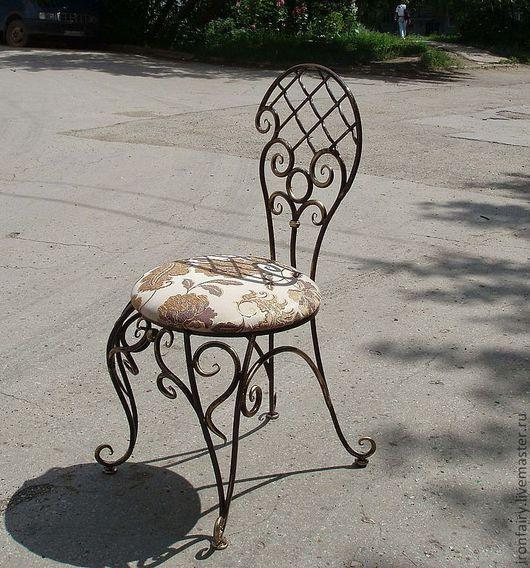 Мебель ручной работы. Ярмарка Мастеров - ручная работа. Купить Стул кованый. Handmade. Черный, мебель на заказ, домашний уют
