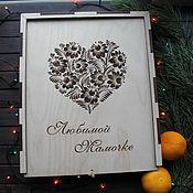 Книги ручной работы. Ярмарка Мастеров - ручная работа Фотоальбом в подарочной коробочке. Handmade.
