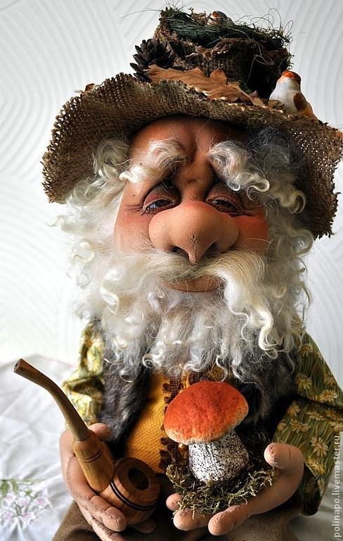 Сказочные персонажи ручной работы. Ярмарка Мастеров - ручная работа. Купить Лесовой. Handmade. Лесной, лесной житель, лесовик