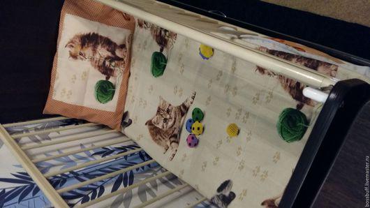 Для новорожденных, ручной работы. Ярмарка Мастеров - ручная работа. Купить детское постельное белье. Handmade. Бежевый, постельное белье