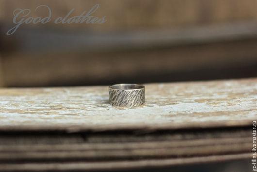 """Кольца ручной работы. Ярмарка Мастеров - ручная работа. Купить Серебряное кольцо """"Кора"""". Handmade. Серебряный, кольцо серебряное"""