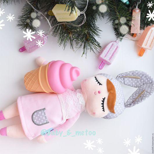 Коллекционные куклы ручной работы. Ярмарка Мастеров - ручная работа. Купить Кукла сплюшка. Handmade. Бледно-розовый, кукла