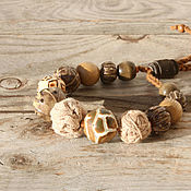 Украшения handmade. Livemaster - original item Bracelet made of beads: in the style of shabby