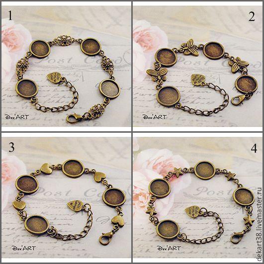 The basis for the bracelet 12-14 mm. Art.OB10, Blanks for jewelry, Irkutsk,  Фото №1