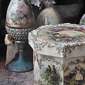 Подарки к праздникам handmade. Livemaster - original item Box,Summer,,. Handmade.