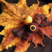 """Украшения ручной работы. Ярмарка Мастеров - ручная работа Брошь """"Осень"""". Handmade."""