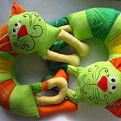 Для дома и интерьера ручной работы. Ярмарка Мастеров - ручная работа Салатовый кот. Handmade.