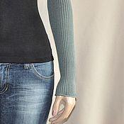 Аксессуары ручной работы. Ярмарка Мастеров - ручная работа Рукава Полынь (вискоза - stretch). Handmade.