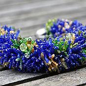Украшения handmade. Livemaster - original item Bracelet Majorelle Garden. Handmade.